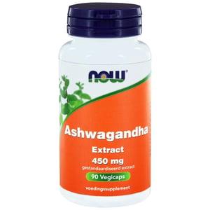 NOW Ashwagandha extract 450 mg afbeelding