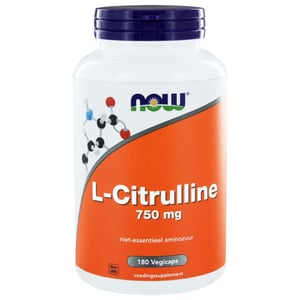 NOW L-Citrulline 750 mg afbeelding