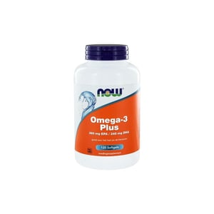 NOW Omega-3 Plus 360 mg EPA 240 mg DHA afbeelding