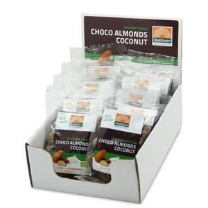 Mattisson Healthstyle Amandelen snack pure chocolade & cocos afbeelding
