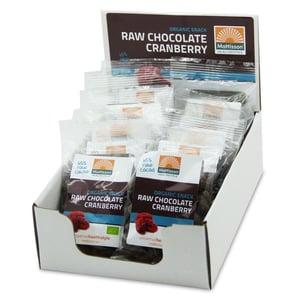 Mattisson Healthstyle Cranberries snack raw choco afbeelding