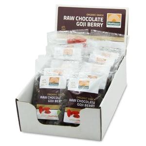 Mattisson Healthstyle Goji snack raw choco afbeelding