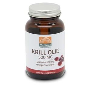 Mattisson Healthstyle Krill olie 500 mg afbeelding