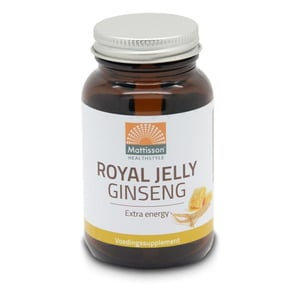 Mattisson Healthstyle Ginseng+ royal jelly afbeelding