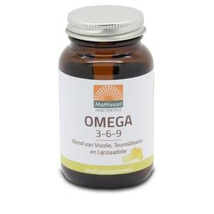 Mattisson Healthstyle Omega 3 6 9 vis teunisbloem lijnzaad afbeelding