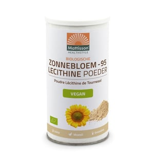 Mattisson Healthstyle Zonnebloem Lecithine Poeder Bio (zonnebloemlecithine) afbeelding