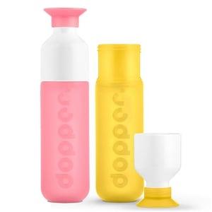 Dopper Dopper fles set Pink Yellow afbeelding