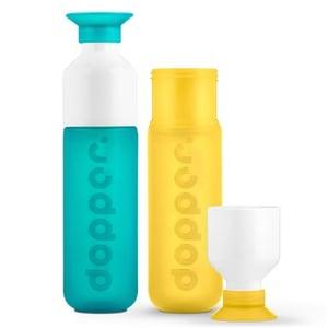 Dopper Dopper fles set SeaGreen Yellow afbeelding