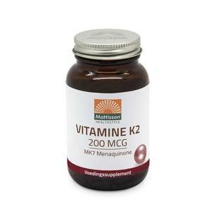 Mattisson Healthstyle Vitamine K2 200 mcg/MK7 afbeelding