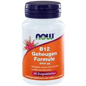 NOW Vitamine B12 geheugenformule 5000 mcg afbeelding