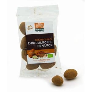 Mattisson Healthstyle Amandelen kaneel snack pure chocolade afbeelding