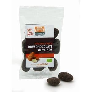 Mattisson Healthstyle Amandelen snack raw puur chocolade afbeelding