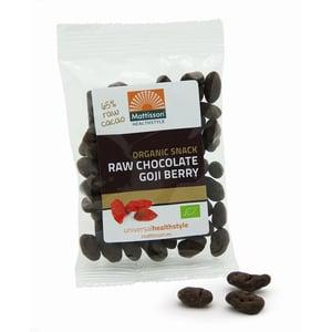 Mattisson Healthstyle Goji snack raw chocolate afbeelding