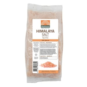 Mattisson Healthstyle Himalaya zout fijn navulzak afbeelding