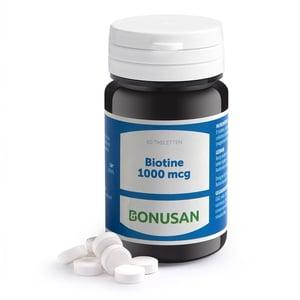 Bonusan Biotine 1000 mcg afbeelding