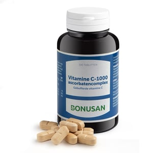 Bonusan Vitamine C 1000 mg ascorbatencomplex afbeelding