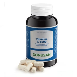 Bonusan Vitamine C1000 mg ascorbinezuur afbeelding