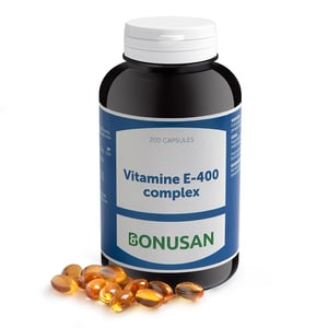 Bonusan Vitamine E 400 complex licaps afbeelding