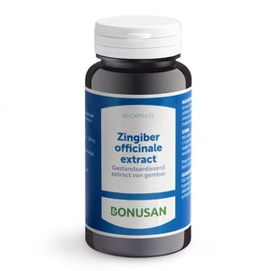 Bonusan Zingiber officinalis extract afbeelding