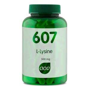 AOV Voedingssupplementen 607 L-lysine 500 mg afbeelding