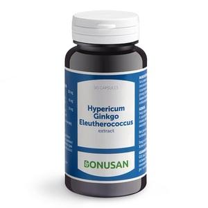 Bonusan Hypericum ginkgo eleutherococcus afbeelding