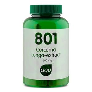 AOV Voedingssupplementen 801 Curcuma Longa geelwortel extract (kurkuma) afbeelding