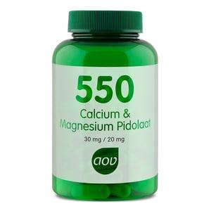 AOV Voedingssupplementen 550 Calcium Magnesium Pidolaat afbeelding