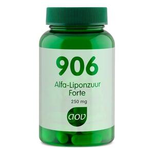 AOV Voedingssupplementen 906 Alfa-liponzuur Forte 250 mg afbeelding