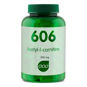 AOV Voedingssupplementen 606 Acetyl L Carnitine 500 mg afbeelding