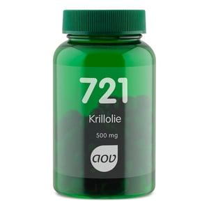 AOV Voedingssupplementen 721 Krill Olie 500mg afbeelding