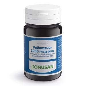 Bonusan Foliumzuur 1000 mcg plus afbeelding