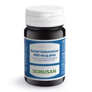 Bonusan Foliumzuur actief 400 mcg plus afbeelding