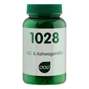 AOV Voedingssupplementen 1028 ALC & Ashwagandha afbeelding