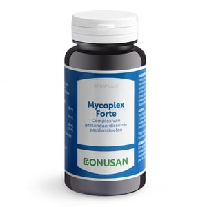 Bonusan Mycoplex Forte (shiitake, maitake, cordyceps, oesterzwam) afbeelding