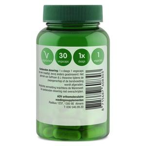 AOV Voedingssupplementen 830 Saffraan & l-theanine afbeelding