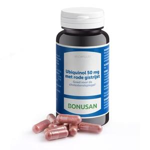 Bonusan Ubiquinol 50 mg met rode gistrijst afbeelding