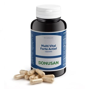 Bonusan Multi vital forte actief capsules afbeelding