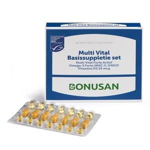 Bonusan Multi vital basissuppletie set (maandverpakking) afbeelding