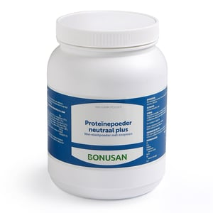 Bonusan Proteine poeder neutraal plus afbeelding