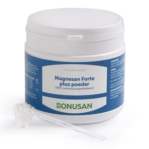Bonusan Magnesan forte plus poeder (240 gram) afbeelding