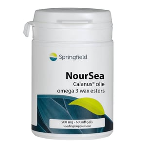 Springfield Noursea Calanusolie omega-3 wax esters afbeelding