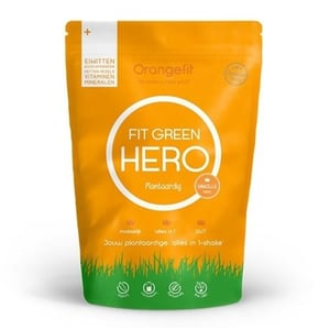 Orangefit Fit Green Hero alles-in-1-shake (2 smaken) afbeelding