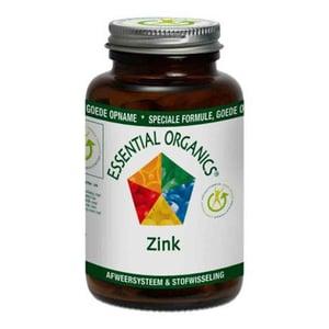 Essential Organics Zink 25 mg afbeelding