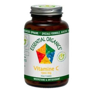 Essential Organics Vitamine C 1500 mg afbeelding