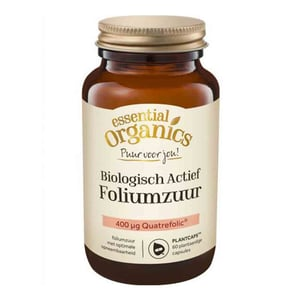 Essential Organics Puur Foliumzuur biologisch actief afbeelding