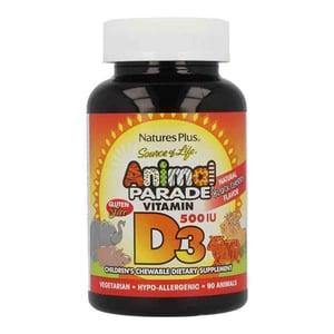 Animal Parade Vitamine D3 kauwtabletten afbeelding