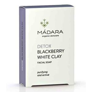 MADARA Blackberry & White Clay Clarifying Face Soap (Bramen & Witte Klei gezichtszeep) afbeelding