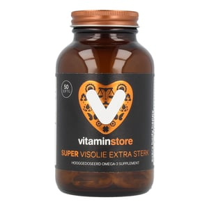 Vitaminstore Super visolie extra sterk omega 3 afbeelding
