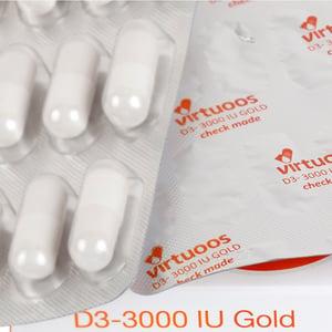 Virtuoos D3-3000 IU Gold afbeelding
