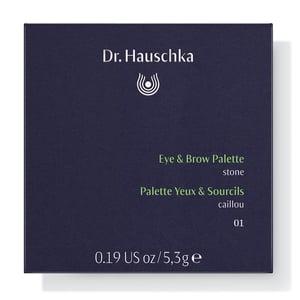 Dr Hauschka Eye & brown palette 01 stone afbeelding